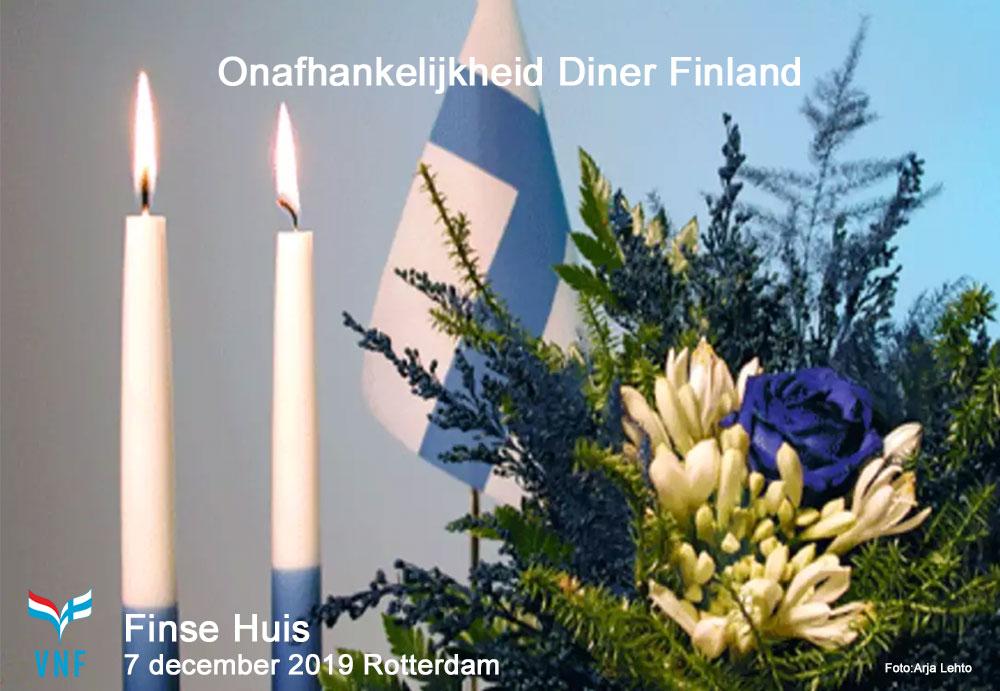 Onafhankelijkheid Diner Finse Huis 2019