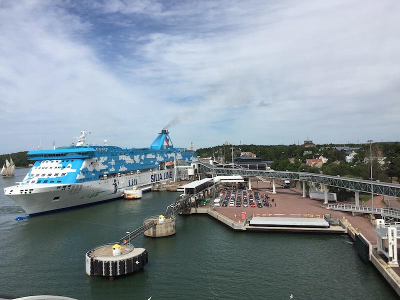 Veerboot Siljalijn naar Finland