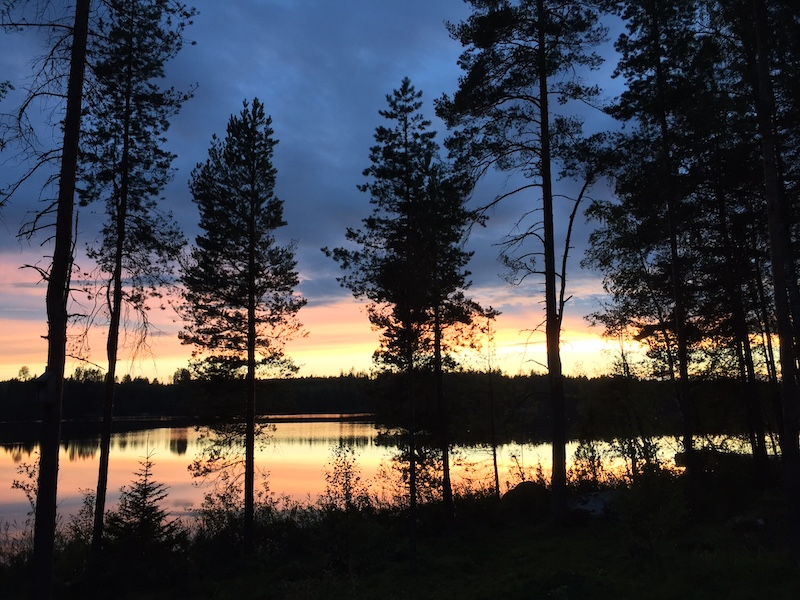 Finland by nightfall
