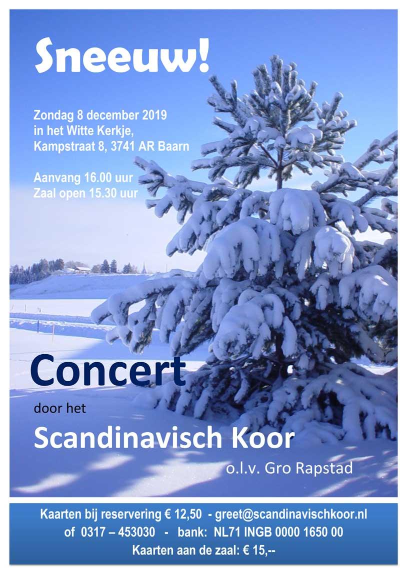 Winterconcert Scandinavisch Koor